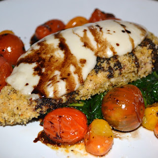 Balsamic Chicken With Spinach And Tomatoes Recipes