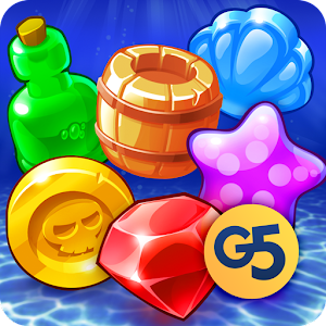 Pirates & Pearls - A Match 3 Pirate Puzzle Game For PC (Windows & MAC)