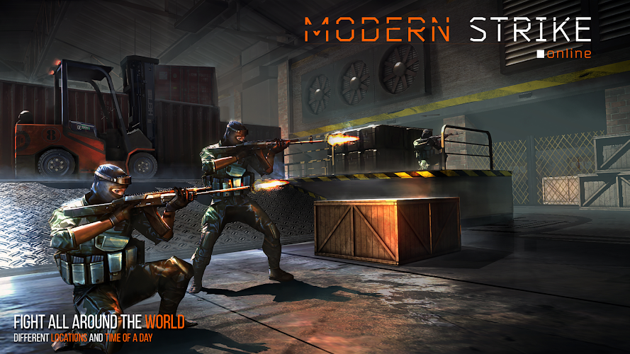 Modern Strike Online Android App Screenshot