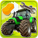 Farm Tractors Wash And Repair 4.0.0 Apk