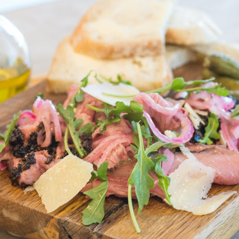 Dorie Greenspan's Roast Beef Carpaccio, Paris Style