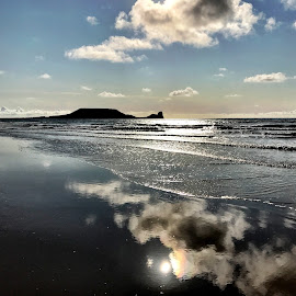 Reflections  by Catherine Roberts - Novices Only Landscapes