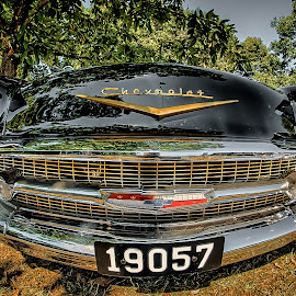 Old Chevy  by Dragan Rakocevic - Transportation Automobiles ( vintag, old car, american, transportation, chevy )