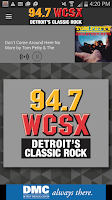 Screenshot of 94.7 WCSX