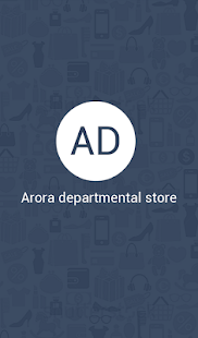 Arora departmental store - screenshot