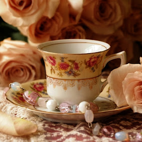 Tea time by Brenda Shoemake - Artistic Objects Antiques (  )