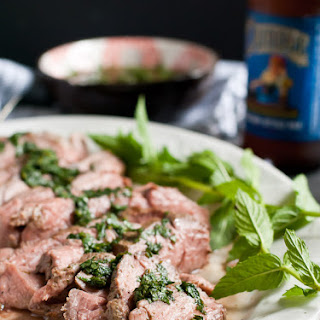 Rosemary and Mint Marinated Grilled Lamb