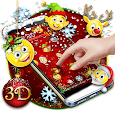 Christmas Emoji 3D Theme