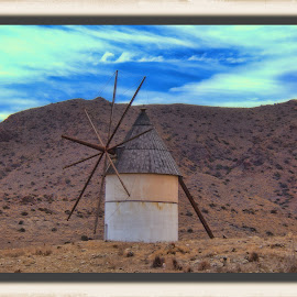 windmill, spain by Jim Knoch - Landscapes Travel