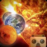 VR Solar System Icon