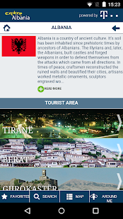 Explore Albania - screenshot