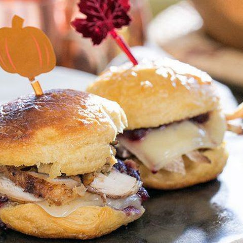 Thanksgiving Leftovers Biscuit Sandwiches