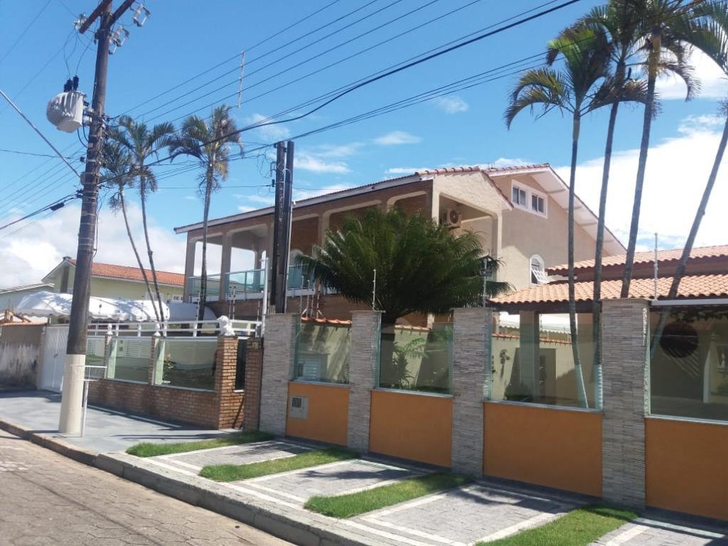 Sobrado com 4 dormitórios à venda ou permuta por Sítio - Balneário Jardim de Itanhaém (F/Grandesp) - Itanhaém/SP