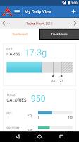 Screenshot of Atkins Carb Tracker