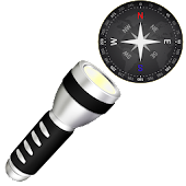 Compass Flashlight Pro