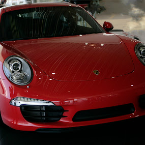911 Red by Cristobal Garciaferro Rubio - Transportation Automobiles ( car, red, racing, porsche, 911, exotic )