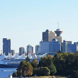 Canada One Pier, Vancouver, Canada by Ada Irizarry-Montalvo - Landscapes Travel