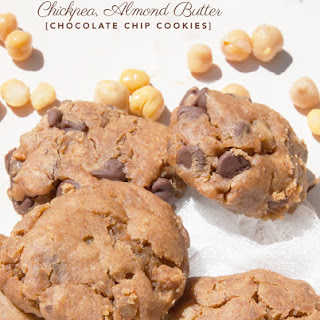 Chickpea, Almond Butter and Chocolate Chip Cookies