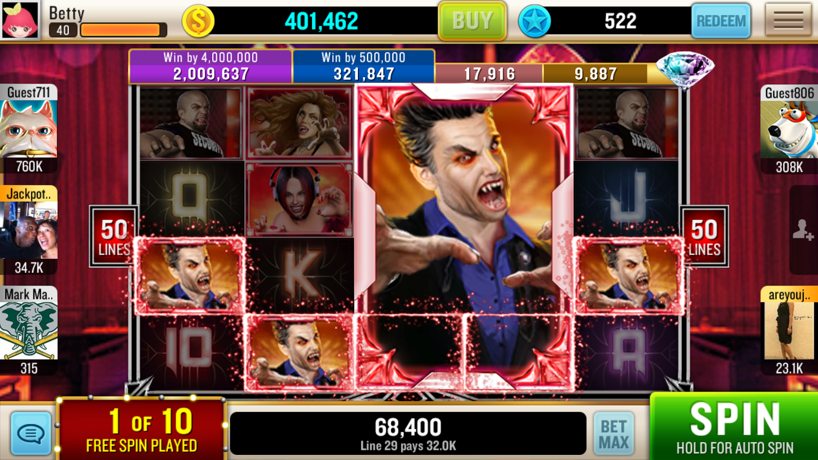Slots - Vegas Party 3D Free! Screenshot 5