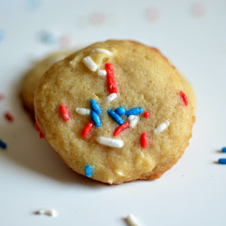 Red White & Blue Coconut Chocolate Chip Cookies