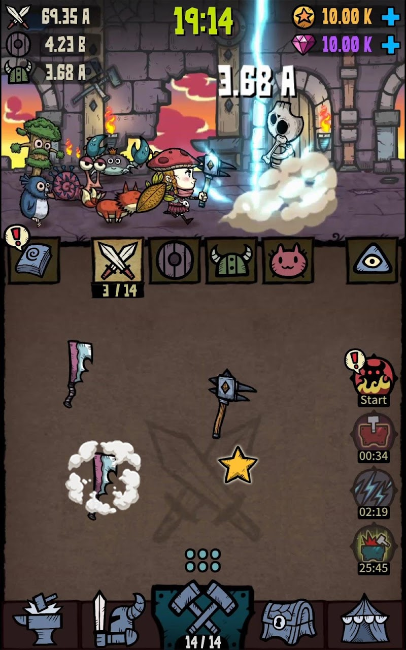 Merge Star : Adventure of a Merge Hero Screenshot 13