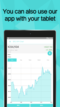 Bitcoin Wallet Coincheck APK screenshot thumbnail 8