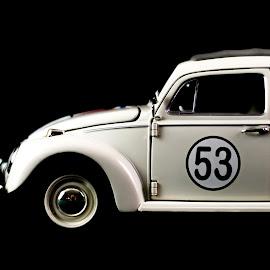 Herbie by Randell Whitworth - Transportation Automobiles ( vw, car, toy, bug, herbie )