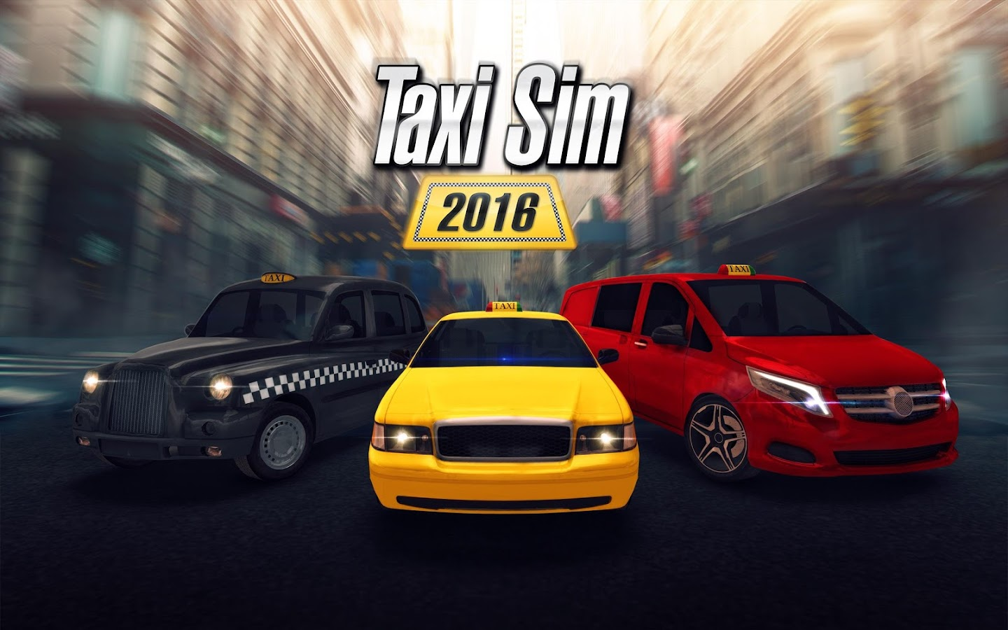 Taxi Sim 2016 Screenshot 0
