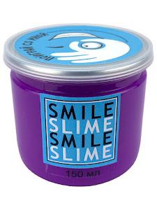 Слайм-лизун Медуза фиолетовый неон, 150 мл.