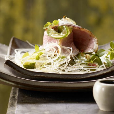 Duck Breast and Glass Noodle Salad