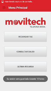 Moviltech Recargas - screenshot