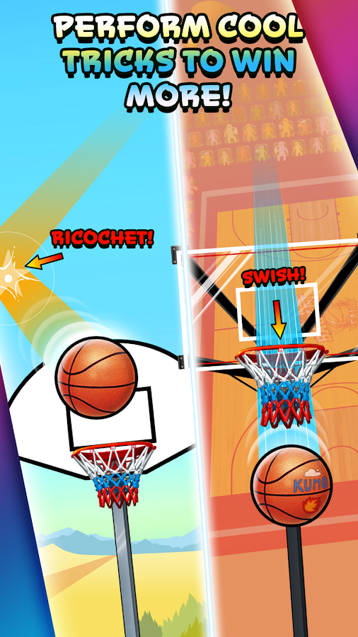 Basket Fall Screenshot 3