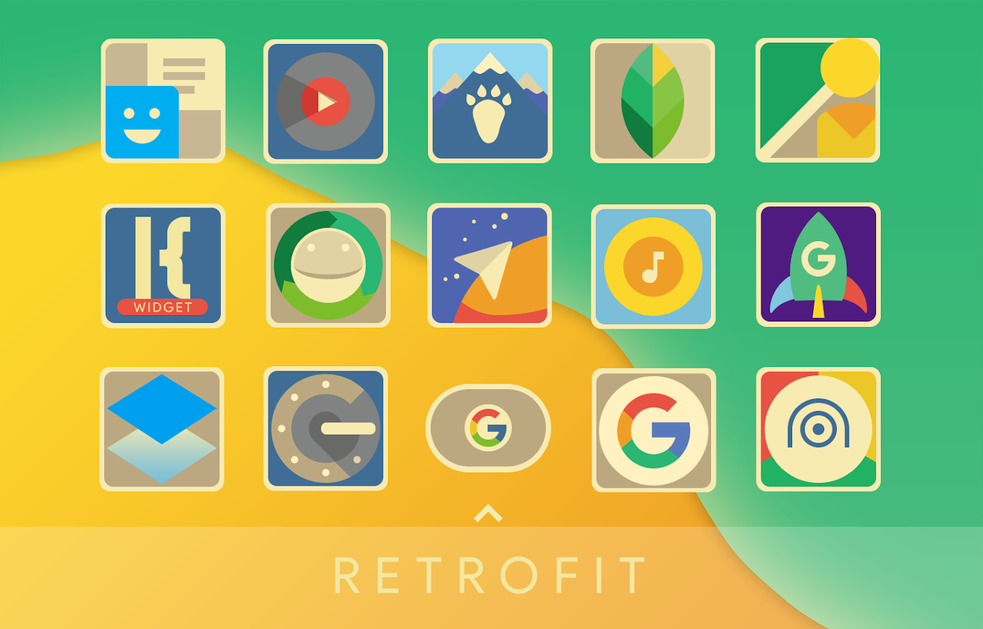 Retrofit Icon Pack Screenshot 0
