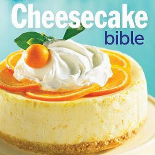 Butterscotch Peach Cheesecake + a review of The Cheesecake Bible