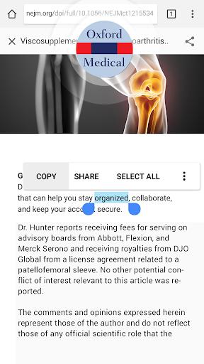 Oxford Medical Dictionary screenshot 3
