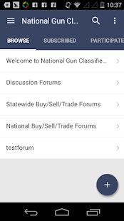 National Gun Classifieds - screenshot