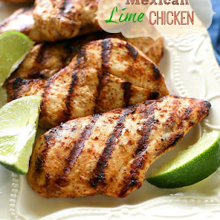 Mexican Lime Grilled Chicken Recipes