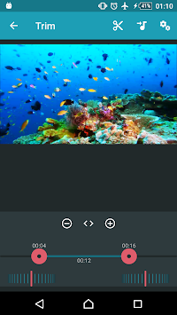 AndroVid - Video Editor APK screenshot thumbnail 2