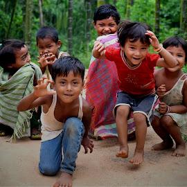 by Rita Chakrabarty - Babies & Children Children Candids