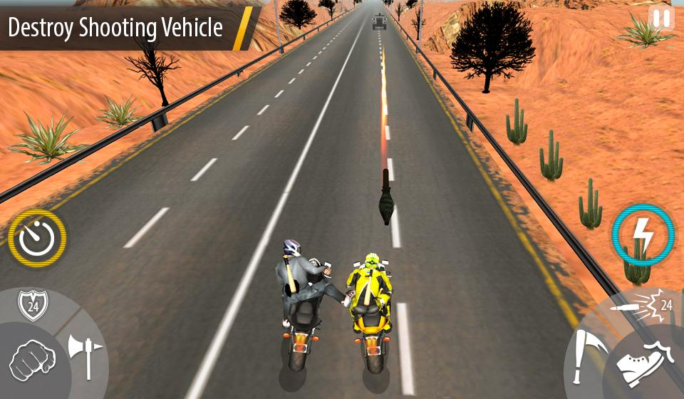 Bike Attack Race : Stunt Rider Screenshot 13