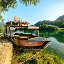 Una National Park - Bosnia by Muhammad Ahmed - Transportation Boats ( water, national park, park, lakes, bosnia, boat )