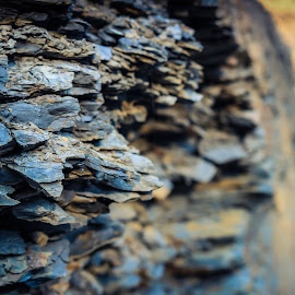Formation by TJ Morrison - Nature Up Close Rock & Stone ( shale, art, rock, natural, formation,  )