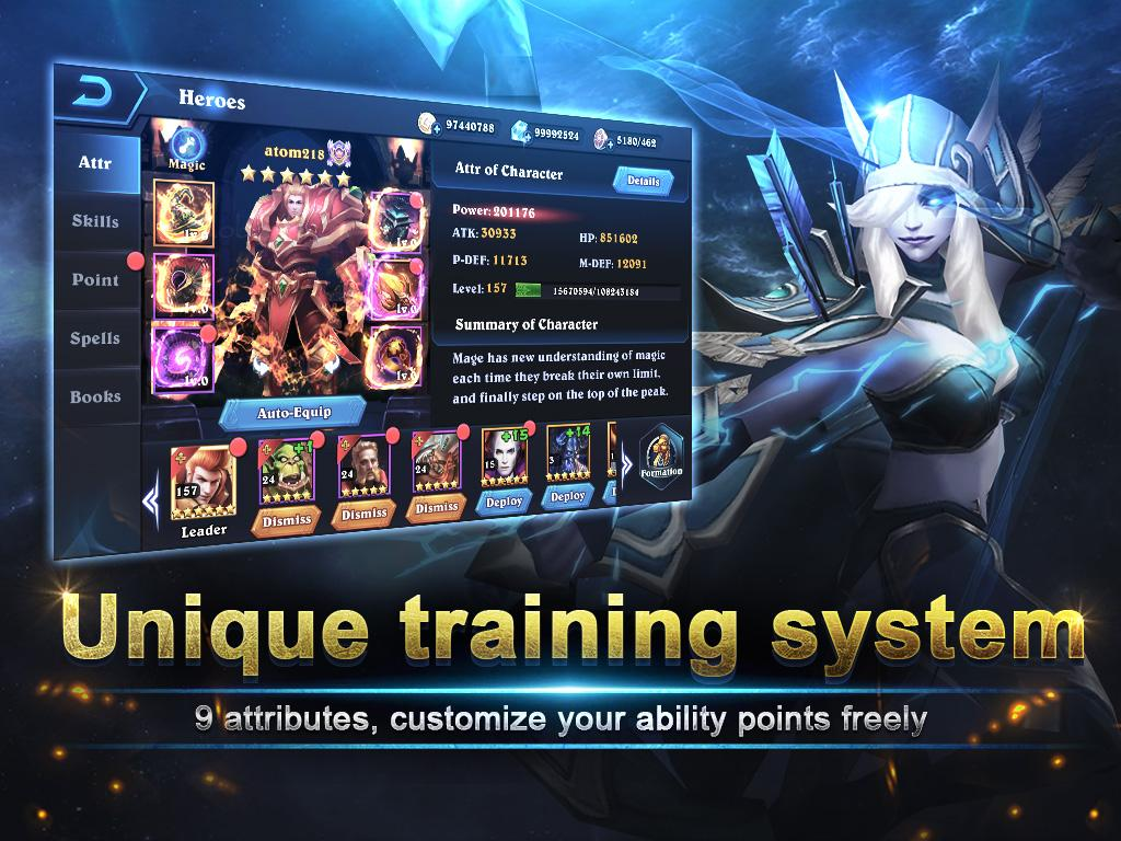 Magic Legion - Age of Heroes Screenshot 12