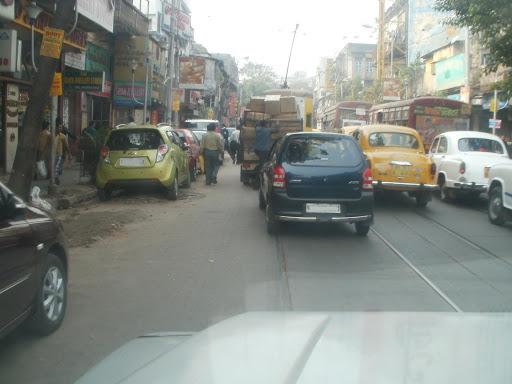 Traffic Jam in Bangladesh