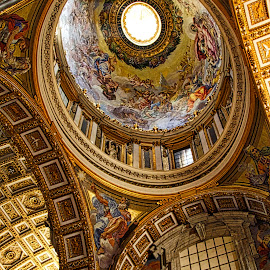 St Peters Basilica by Jim Antonicello - Buildings & Architecture Places of Worship ( church, rome, vatican )