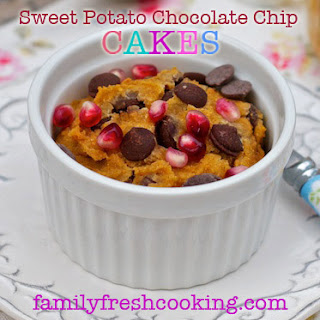 Sweet Potato Chocolate Chip Jar Cakes