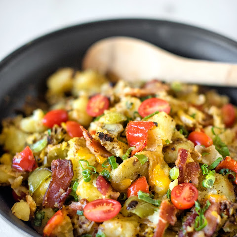 Best-Ever Cheesy Bacon Potato Skillet