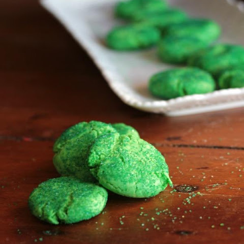Tangy Lime Snaps Cookies for St. Patrick's Day