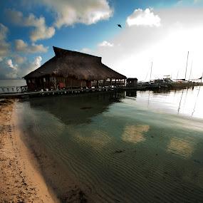 Cancun waterscape by Cristobal Garciaferro Rubio - Landscapes Travel ( cancun, water, shore, mexico, sea )