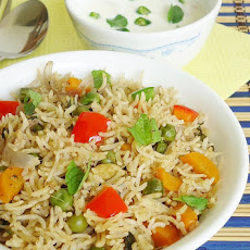 Vegetable Biryani In Pressure Cooker